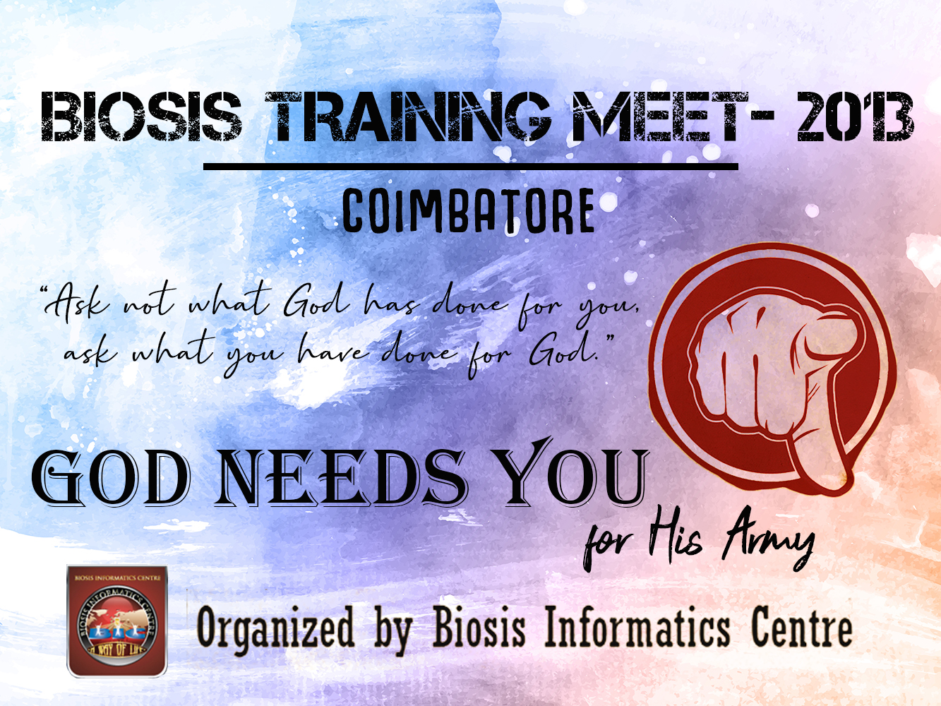 BIC Mission Training 2013