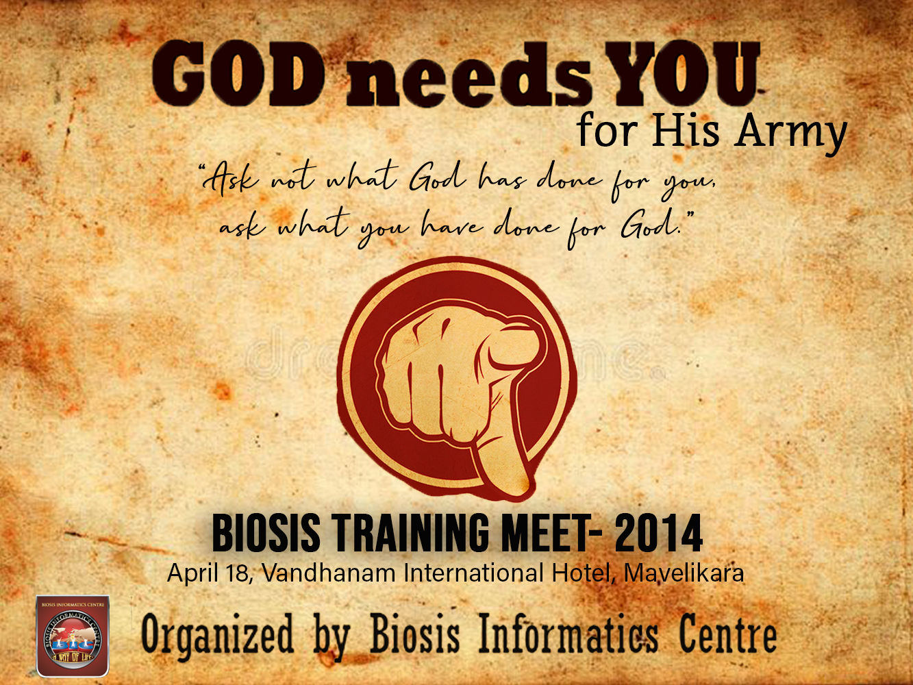 BIC Mission Training 2014