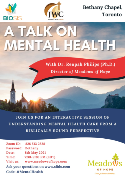 A Talk on Mental Health